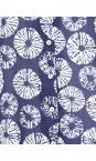 Adini Blue Samoa Print Ocean Tunic