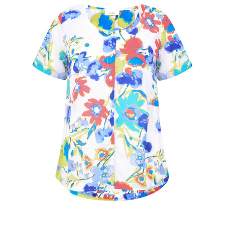Adini Dominica Print Angelina Top - Multicoloured