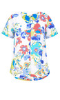 Adini Tropical Dominica Print Angelina Top