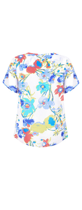Adini Dominica Print Angelina Top Tropical