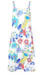 Adini Tropical Dominica Print Dominica Dress