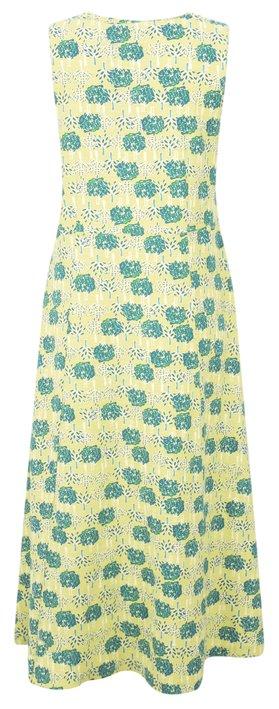 Adini Double Tree Print Double Tree Dress Citron