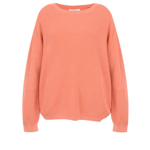 Sandwich Clothing Batwing Rib Knit Jumper