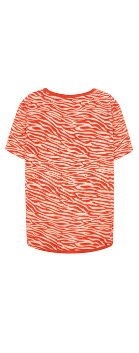 Sandwich Clothing Zebra Dobby Blouse Burned Red