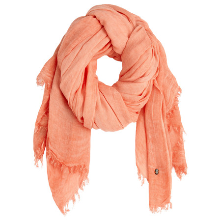 Sandwich Clothing Crinkle Dye Scarf - Orange