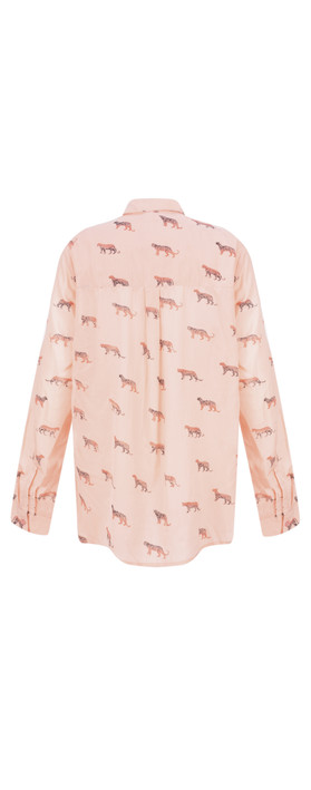 Sandwich Clothing Animal Blouse Washed Rose