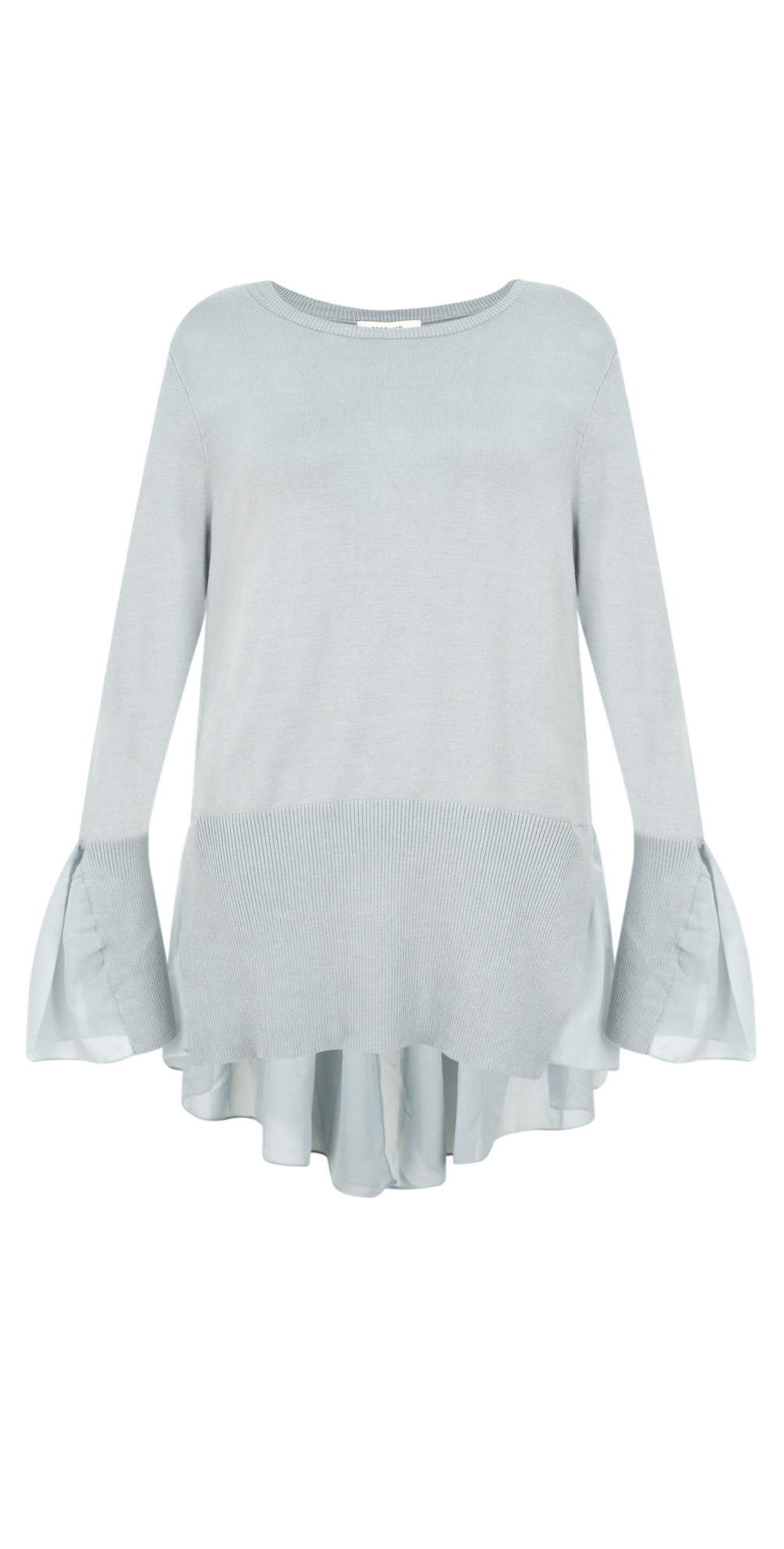 Frill Detail Thin Knit Jumper main image