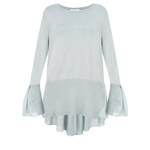 Sandwich Outlet  Frill Detail Thin Knit Jumper