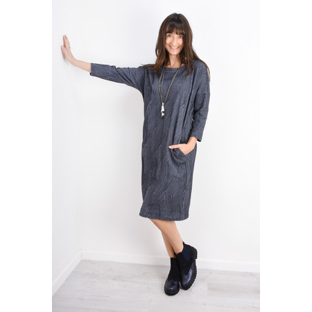 Sandwich Clothing Denim Jacquard Dress - Blue