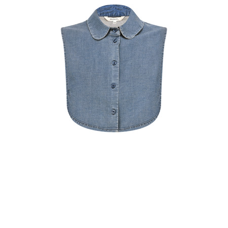 Sandwich Clothing Cotton Collar  - Blue