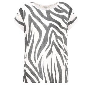 Sandwich Clothing Zebra Jersey Top