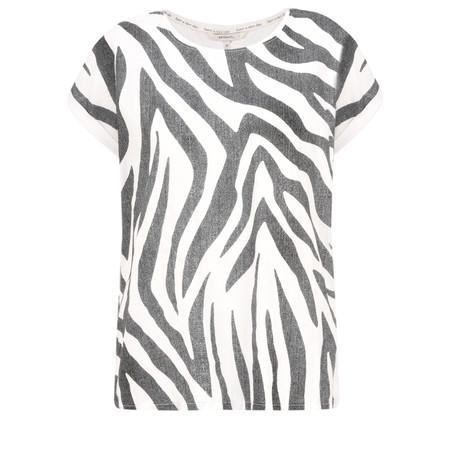 Sandwich Clothing Zebra Jersey Top - Black