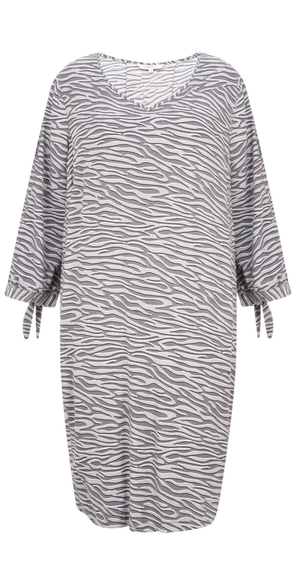 Zebra Dobby Dress main image