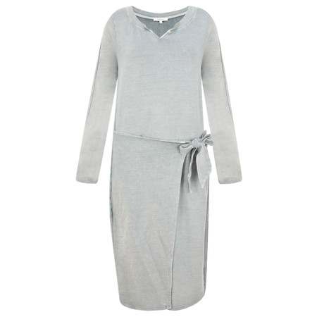 Sandwich Clothing Fleece French Terry Dress - Blue