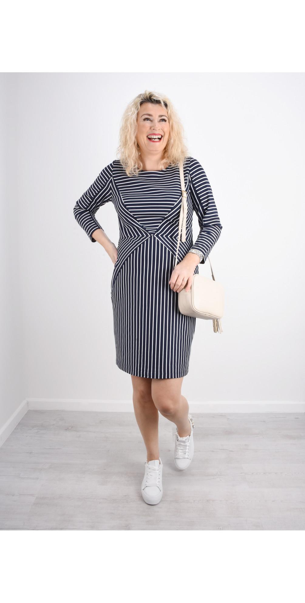 Striped Jersey Dress main image