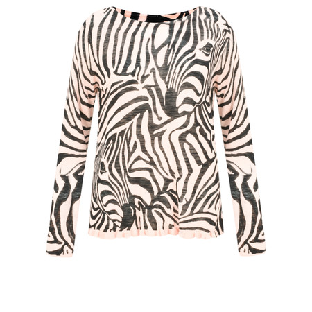 Sandwich Clothing Zebra Jumper - Pink