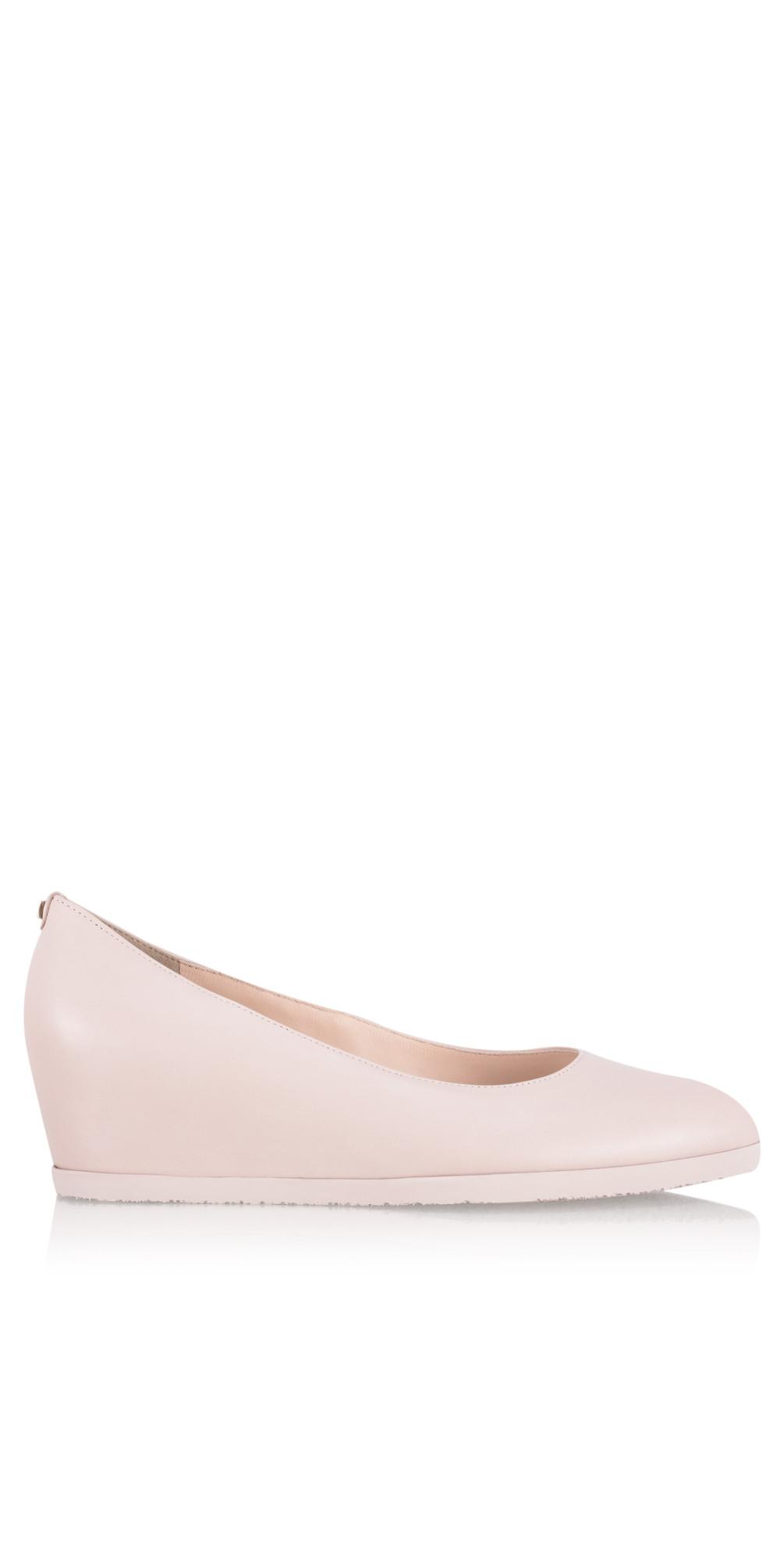 2c3e88e7f1295 Hogl Elke Wedge Shoe in Rose