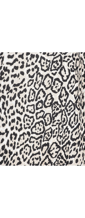Masai Clothing Damali Leopard Top Sand Org