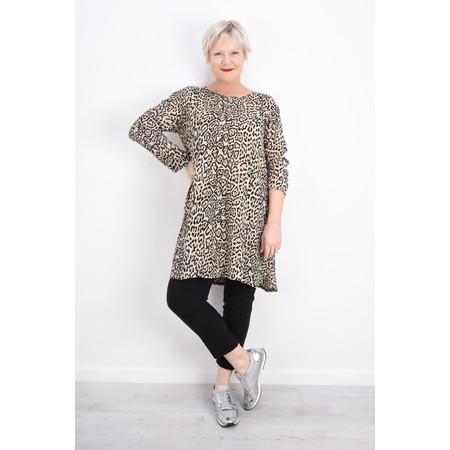 Masai Clothing Genetta Leopard Tunic - Beige