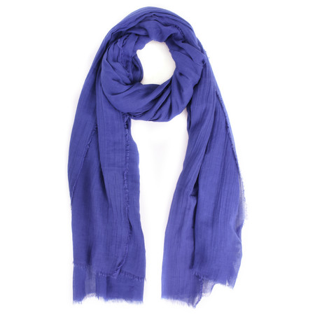 Masai Clothing Ava Cotton Scarf - Blue