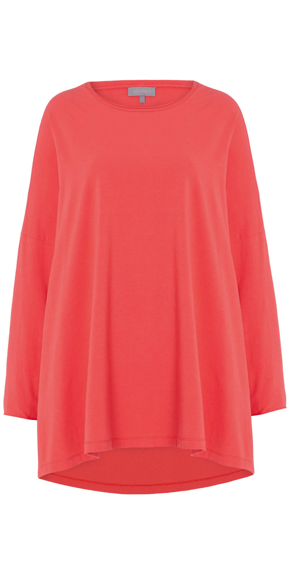 Cotton Jersey Oversized Top main image