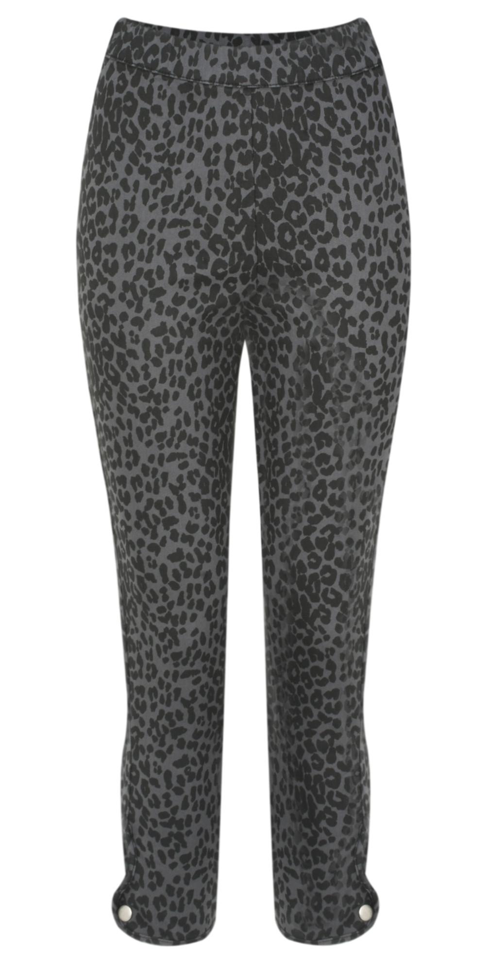Paca Leopard Print Capri Trouser main image