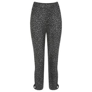 Masai Clothing Paca Leopard Print Capri Trouser
