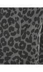 Masai Clothing Stone Paca Leopard Print Capri Trouser