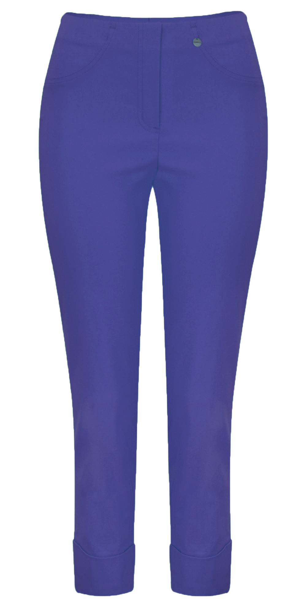 Bella 09 Royal Blue Ankle Length 7/8 Cuff Trouser main image