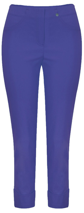 Robell Trousers Bella 09 Ankle Length 7/8 Cuff Trouser Royal Blue 67