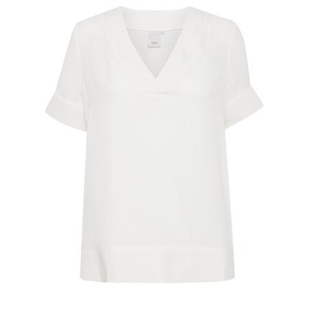 ICHI Collian Top - White