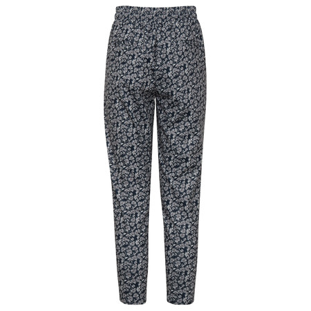 ICHI Kate Print Trouser - Blue