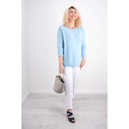 Fenella  Marty Easyfit Supersoft Knit Jumper - Blue
