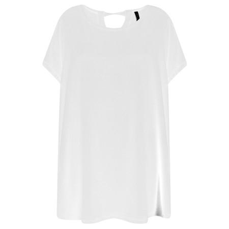 Foil Soft Focus Swing T-Shirt - White