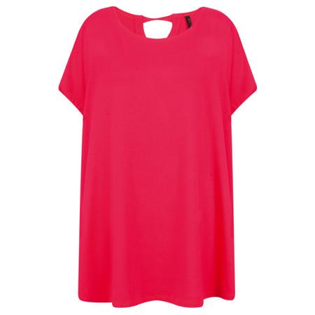 Foil Soft Focus Swing T-Shirt - Pink