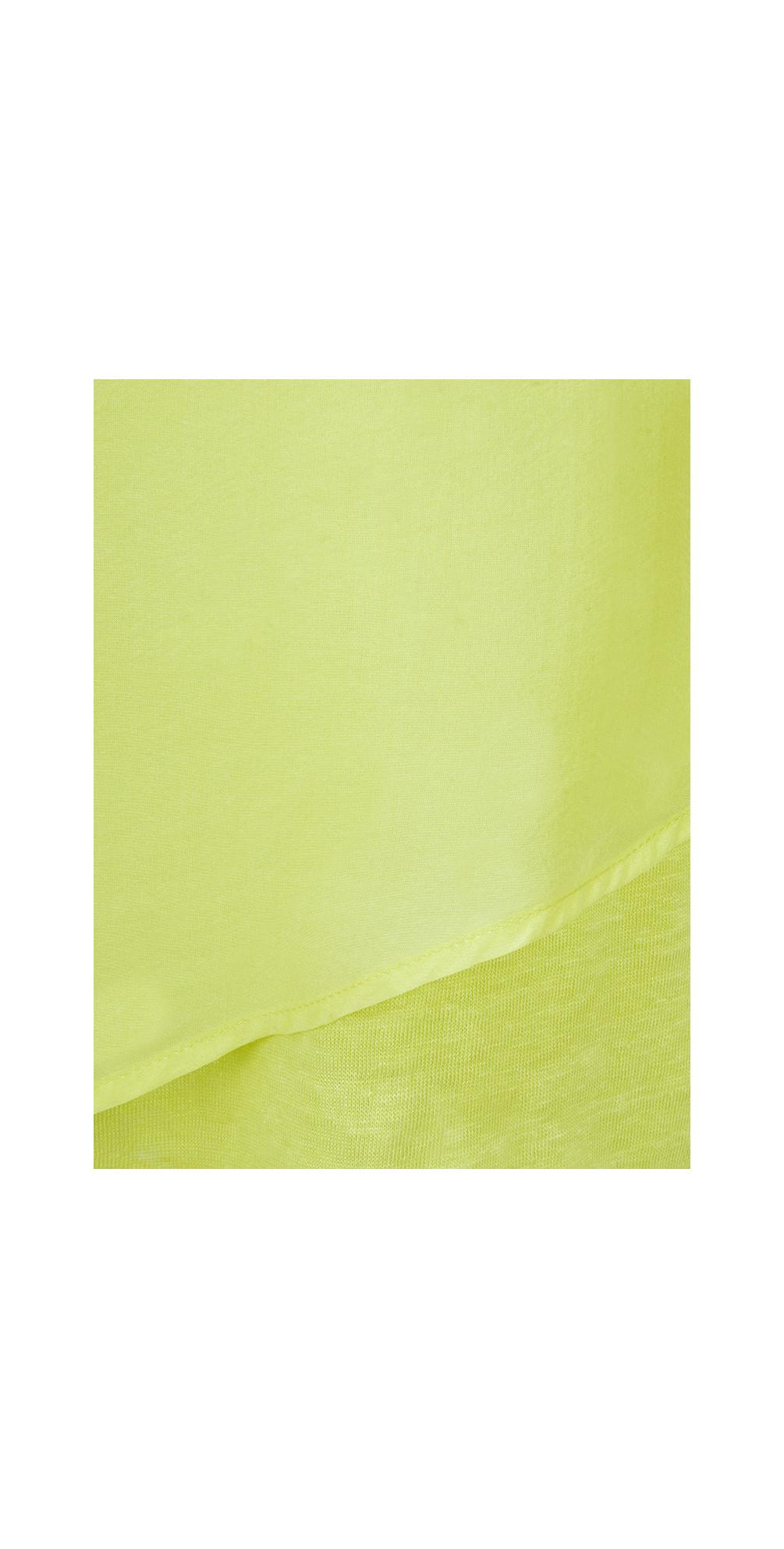 Silk & Linen Flutter Top main image