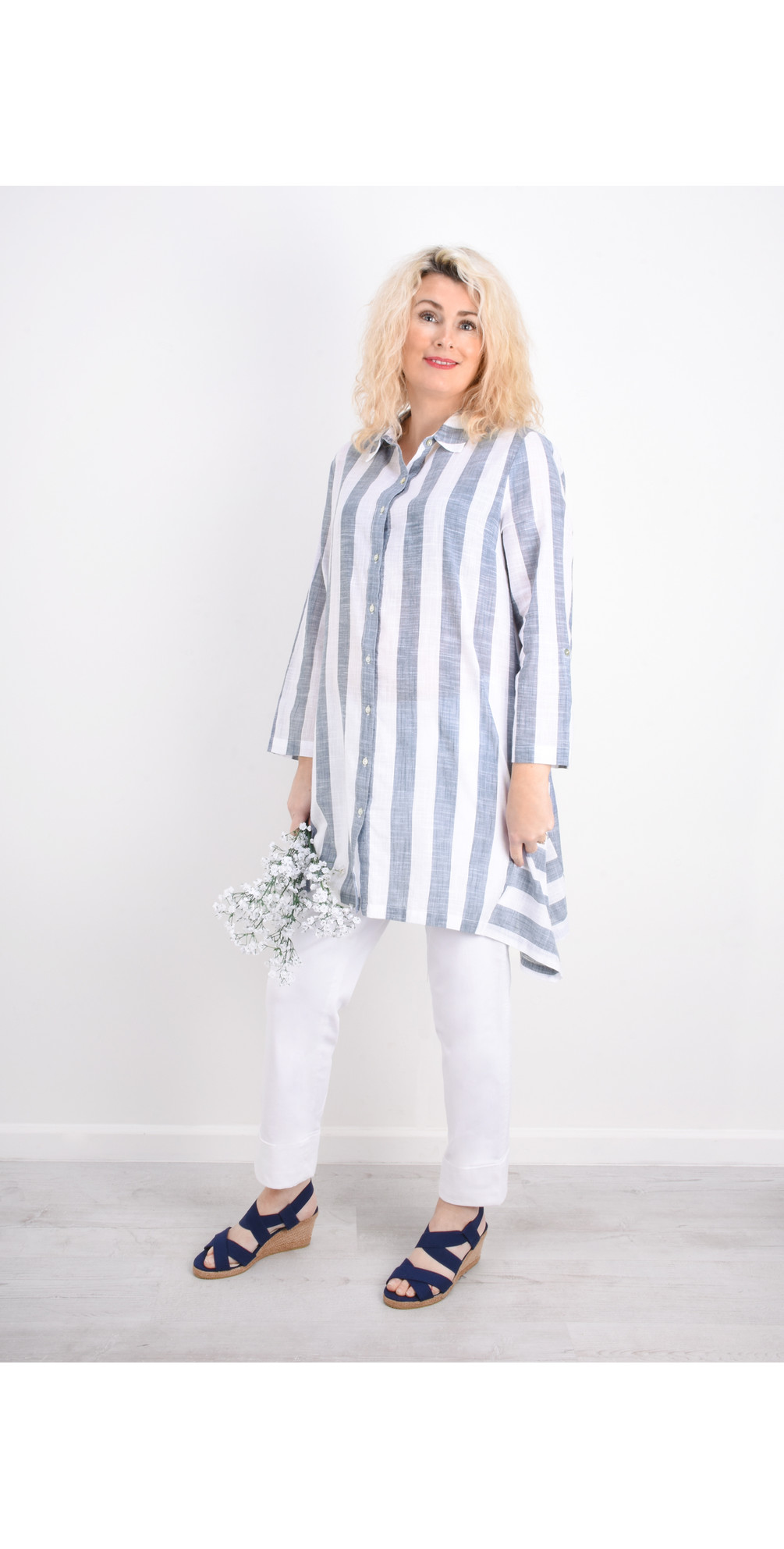 Quay Stripe Quay Big Shirt main image