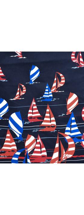 Foil Printed Sail Away Dress Sail Away Figawi