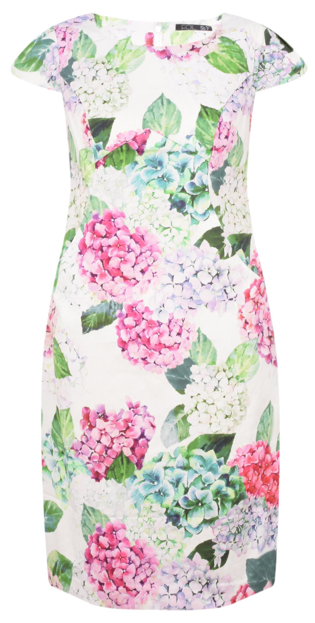 Printed Floral Dress main image