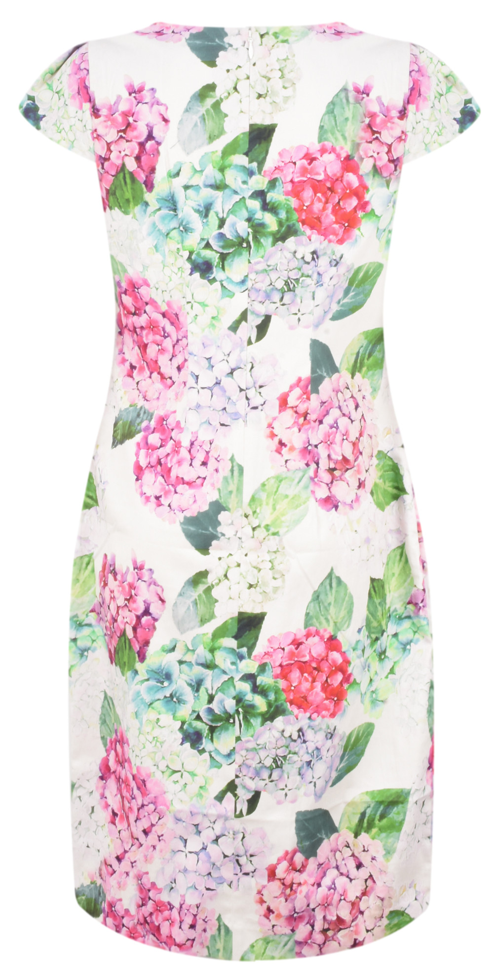 Printed Pretty Versatile Cap Sleeve Dress main image