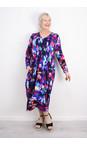 Sahara Multi Mali Print Jersey Dress