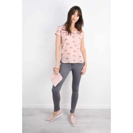 Sandwich Clothing Animal Top - Pink