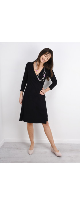 Masai Clothing Neba Wrap Dress Black