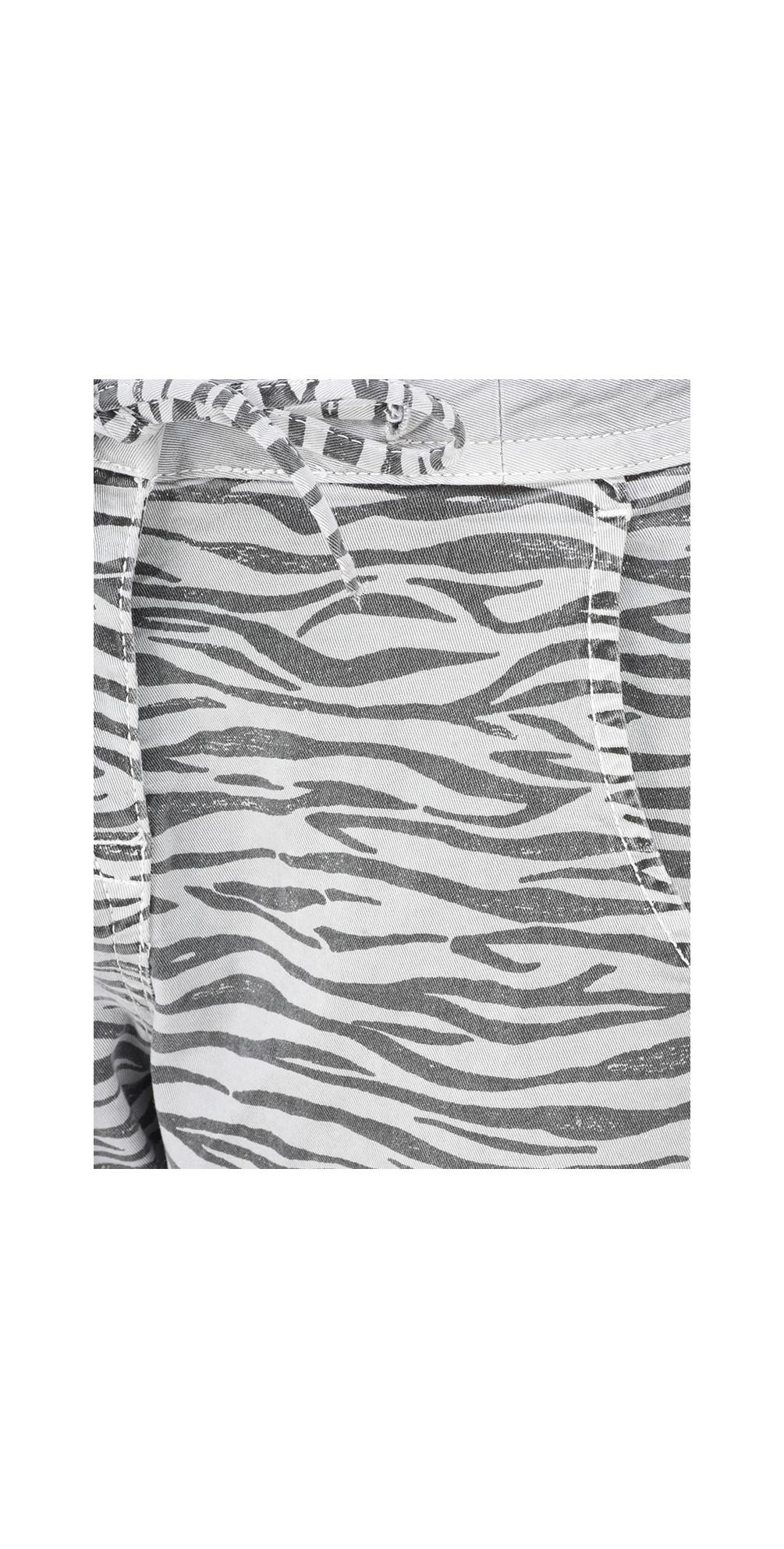 Zebra Print Casual Trouser main image