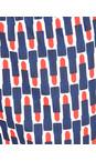 Foil Lippy Ink Printed Lipstick Capri Trousers