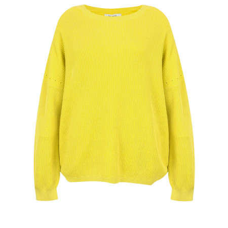 Sandwich Clothing Batwing Rib Knit Jumper - Yellow