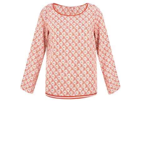 Sandwich Clothing Abstract Print Blouse - Pink