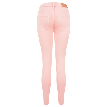 French Connection Rebound Coloured Ankle Grazers - Pink