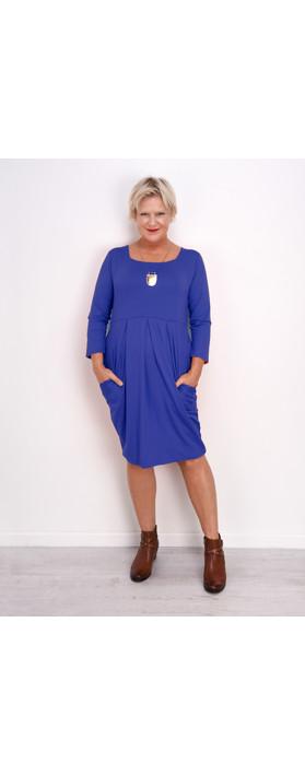 Masai Clothing Hope Tunic Dress Greek Blue