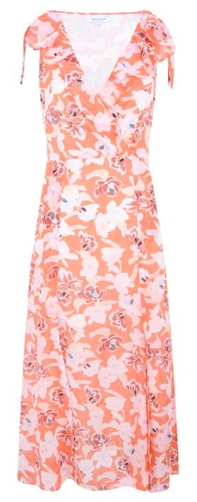 Great Plains Tulum Floral Maxi Dress Rust Multi Combo